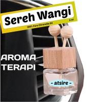 Parfum Mobil AROMATERAPI Atsire- Minyak Atsiri Sereh Wangi -Citronella