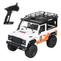 MN-99 D90 CROSS COUNTRY RTR (WHITE) 1/12 2.4GHZ RC ADVENTURE OFFROAD