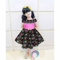 Dress Batik Sabrina Cesti Kid