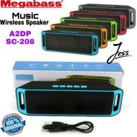 Speaker Bluetooth Stereo Music MEGABASS Wireless Stereo A2DP / SC208