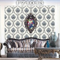 Wallpaper dinding Classic Damask MANSION F71011 - F71014