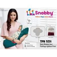 Selimut Bayi Baby Blanket Snobby Topi Flamingo TPB 5231