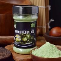 House Of Organix Green Chili Balado 80 Gr Food Seasoning Powder