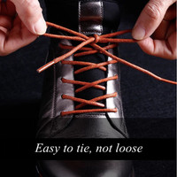 Tali Sepatu Lilin Bulat 1100cm Tebal 5-6mm (Big Round Waxed shoelace)