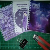 Notebook custom-buku notes A4 isi 100ply