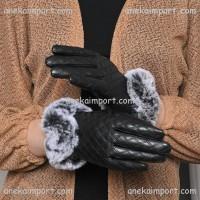 Sarung Tangan Kulit Musim Dingin Wanita, Gloves Winter Touch Screen