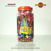 Permen Cokelat Payung Junior Chocolate Toples isi 60pcs ENAKNYA MANTAP