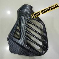 Tutup / Cover Radiator Nmax Carbon Nemo murah Variasi Motor