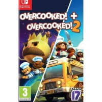 Over Cooked! + Over Cooked! 2 Game Nintendo Switch