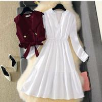 Baju Wanita HAGUMI SET DRESS