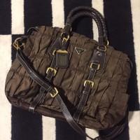 Prada saffiano Tote leather Bag