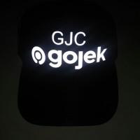 Topi Custom Gojek - Grab - dan lainnya - 12 pcs minimal order Murah