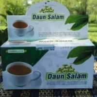 obat herbal khasiat ampuh teh salam original griya herba berkualitas