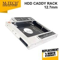 M-Tech Original SSD HDD Caddy 12.7 mm SATA DVD Slot Hardisk