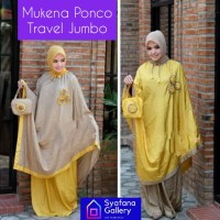 Mukena Dewasa Ponco Parasut Travel Pocong Traveling Jumbo Cantik