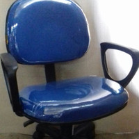 kursi kantor staff +tanganan+hidrolik VR 528 VERZA