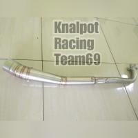 Leher knalpot Supra x 125 absolute Revo Blade pipa leher knalpot