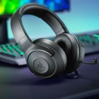 Razer Kraken x Headphone Gaming 7.1 Virtual Surround Mic Stereo