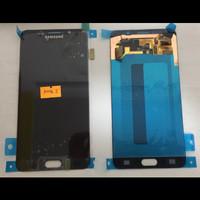 LCD 1 SET SAMSUNG NOTE 5 GALAXY NOTE 5 BLACK ORIGINAL BISA KONTRAS