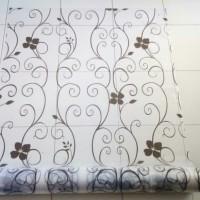 sticker kaca motif tralis