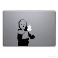 Decal Lego Minifig Sticker Laptop skin for macbook