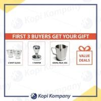 BIGG SALE 30% Milesto Aurora Coffee Machine Espresso Maker Mesin Kopi