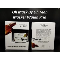OH MASK PURIFYING CLAY FACE MASK MASKER WAJAH PRIA BY OH MAN POMADE