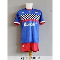 Baju Olahraga Kaos Badminton Setelan Bulutangkis Y51 Benhur