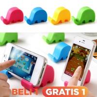 Beli-1-Gratis-1(2Pcs) Stand Holder Mini Gajah U Handphone / Tablet