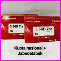 Voucher Fisik Data Internet Telkomsel 3.5 Gb