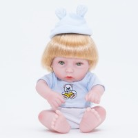 Simulation Baby Doll Lifelike Girl Play House Gift Kids Toy 28CM
