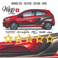 MANGELE ERC Cutting 3M Decal Stiker Mobil Quality Keren Sticker Racing