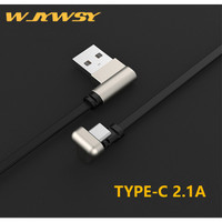 WJYWSY- Kable Data TYPE C U Shape 2.1A Fast Gaming Charger - TYPE C