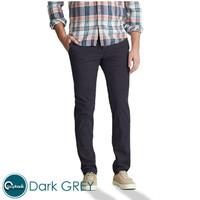 Celana Chino Slim Fit - Celana Panjang Pria Premium Dark Grey