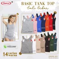 Basic Tank Top Sorex 5011 - Camisol Viscose Sorex