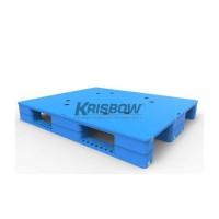 PALLET PLASTIC 1.5T 1200X1000X150 FLOC8S KRISBOW 10109695