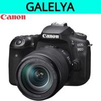 Canon EOS 90D kit 18-135 mm NANO USM kamera DSLR