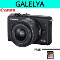 CANON EOS M200 Kit 15-45mm IS STM - NEW Garansi Resmi Canon Datascrip
