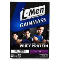 L-Men Gain Mass Taro Susu Penambah Massa Otot Lmen Gainmass Whey