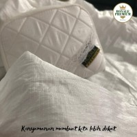 Mukena Abaya Royale Premium Ivory