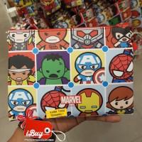 Miniso Cute Marvel Avenger Heroes Tas Kosmetik Pouch Tempat Pensil
