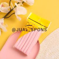 Spons Facial/Sponge Facial/Spons Kentang/Spons Wajah Pink