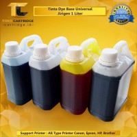 Tinta refill 1 liter jerigen Printer inkjet Epson Canon HP Brother ink