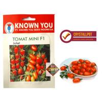 benih bibit tomat mini f1 juliet known you seed - kys
