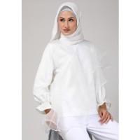 KNW Broken White Risa Top - Atasan Muslim Wanita
