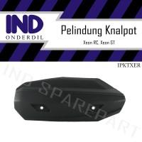 Cover Tutup-Penutup-Tameng Pelindung Knalpot-Kenalpot Xeon 125 RC-GT