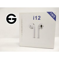 Headset Handsfree Bluetooth 5.0 TWS i12 Earphone Wireless