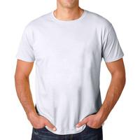 Muscle Fit Kaos Polos O-Neck Lengan Pendek Cotton -SOLID color- 1 PCS