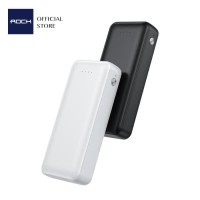 ROCK P76 Mini Power Bank 10000mAh 2.1A Dual USB Output Fast Charging