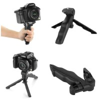 Tripod Camera For DSLR Go Pro Smartphone Stand Tiga Kaki Kamera 2 IN 1